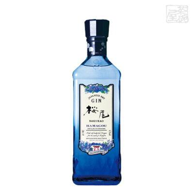 中国醸造 SAKURAO GIN HAMAGOU 700ml
