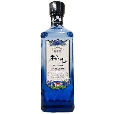 中国醸造 SAKURAO GIN HAMAGOU 2019 700ml