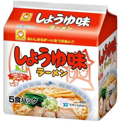 マルちゃん しょうゆ味ラーメン(5食パック)