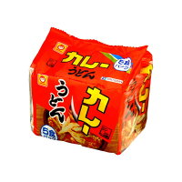 東洋水産 マルちゃん カレーうどん 甘口 5食パック