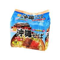 東洋水産 マルちゃん 沖縄そば5食パック