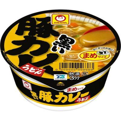マルちゃん 黒いまめ豚カレーうどん ケース(42g*12個入)