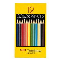 トンボ 色鉛筆 12色 CQ-NA12C
