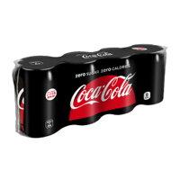 コカ・コーラ ゼロ  280ML 缶x4