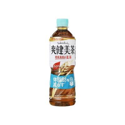 コカ・コーラ 爽健美茶 健康素材の麦茶 ペット 600ml