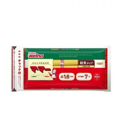 日清フーズ 08春密封チャック付結束スパゲティ1.6 600g