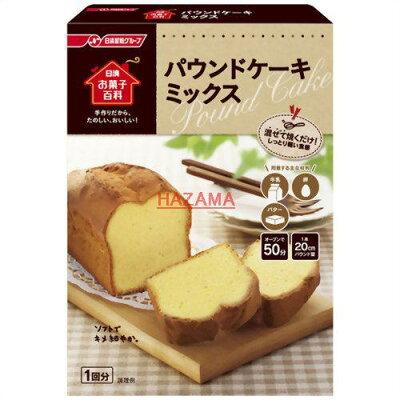 日清 お菓子百科 パウンドケーキミックス(240g)