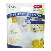 ダヴ モイスチャーケア 詰替用ペア+ボディウォッシュ グレープフルーツ&レモングラス(350g+350g+380g)