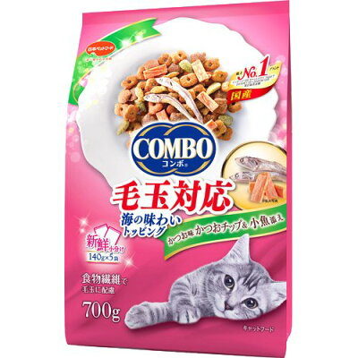 コンボ 毛玉対応 かつお味・かつおチップ・小魚添え(140g*5袋入)
