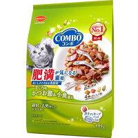 コンボ 肥満が気になる猫用 まぐろ味・かつお節・小魚添え(140g*5袋入)