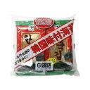 韓国味付海苔 6袋(8切8枚)