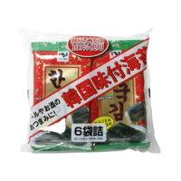 韓国味付海苔(6袋入(8切8枚入))