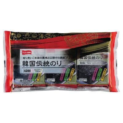 ニコニコのり StyleONE 韓国伝統 3袋