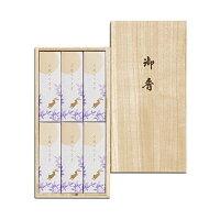 線香 贈答用 「月夜のうさぎ 桐箱(日本香堂)」