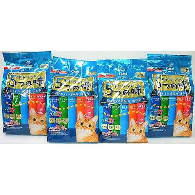 キャラット 5つの味 飽きやすい成猫用 海の幸(400g)