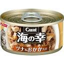 日清ペットフード 海の幸缶 ツナ&おかか 80g