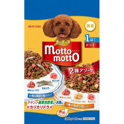 プッチーヌ mottomotto ドライ 1歳から 小魚&チーズ粒入り(600g)
