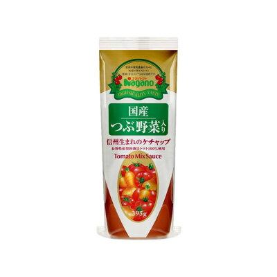ナガノトマト 国産つぶ野菜入り 信州生まれのケチャップ295g