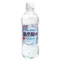 サンガリア 伊賀の天然水強炭酸水 500ml