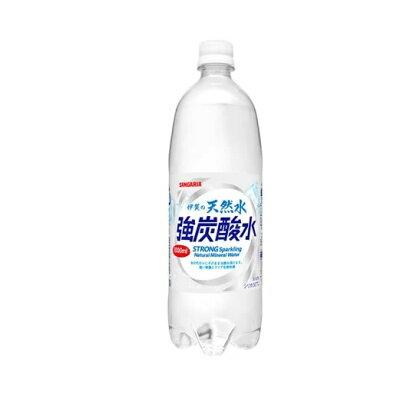サンガリア 伊賀の天然水 強炭酸水 1L