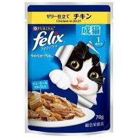 フィリックス やわらかグリル 成猫用 ゼリー仕立て チキン(70g)