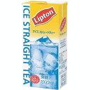 リプトン リキッドティー アイスストレートティー用 無糖 1LX6
