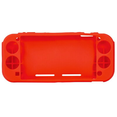 Digio2 Switch Lite用 シリコンカバー レッド SZC-SWL03R(1個)