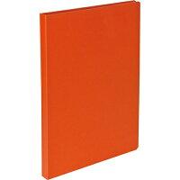 ハンディー・クリップボード(カバータイプ) A4・S型 オレンジ QBC-A401-OR(1コ入)