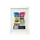 ナカバヤシ 木製デジタルプリントフレーム B4判/A4判 ホワイト フ-DPW-B4-W