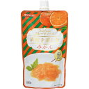 日世 果肉を楽しむフルーツソース みかん(150g)