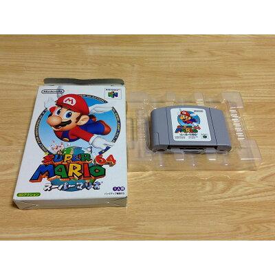 N64 スーパーマリオ64 箱・説明書無し