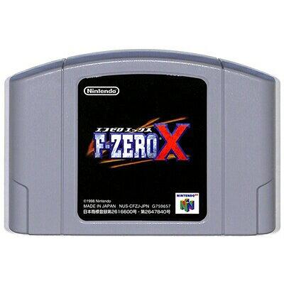 N64 F-ZERO X NINTENDO 64