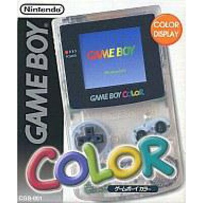 Nintendo ゲームボーイカラー クリア