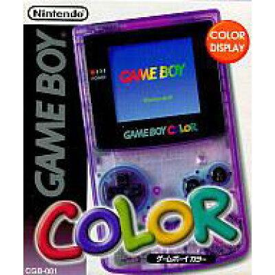 Nintendo ゲームボーイカラー 本体 クリアパープル