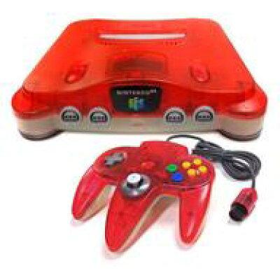 Nintendo NINTENDO 64 本体 クリアレッド