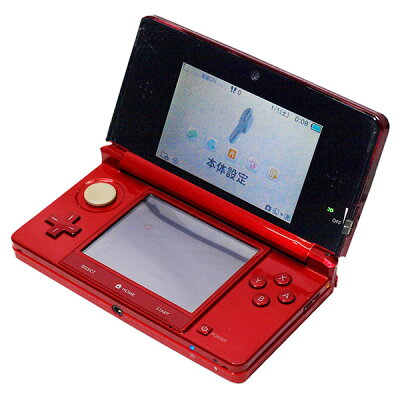 Nintendo 3DS 本体 フレアレッド