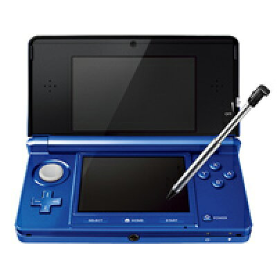 Nintendo 3DS 本体 コバルトブルー