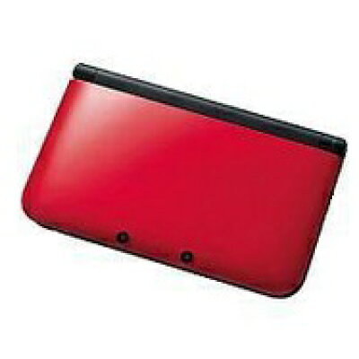 Nintendo 3DS  LL 本体 レッド/ブラック