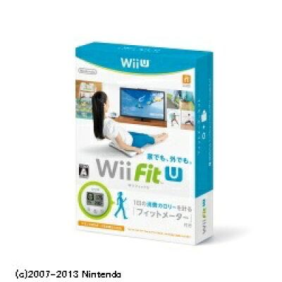 Wii Fit U フィットメーターセット/Wii U/WUPQASTJ/A 全年齢対象