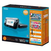 Wii U すぐに遊べるファミリープレミアムセット(クロ)(「Wii Party U」同梱)/Wii U/WUPSKAFS/A 全年齢対象