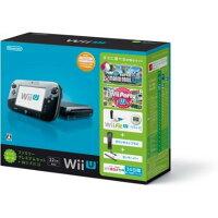 Wii U すぐに遊べるファミリープレミアムセット+Wii Fit U(クロ)(「New スーパーマリオブラザーズ U」同梱)/Wii U/WUPSKAFT/A 全年齢対象