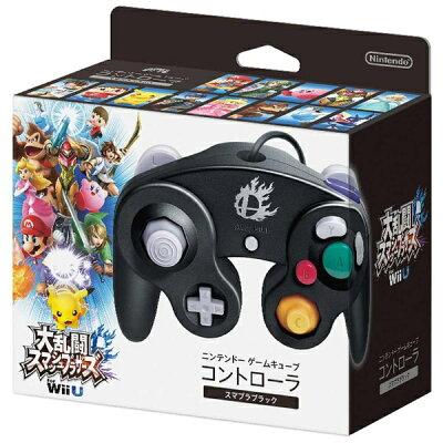 任天堂 ゲームキューブコントローラ スマブラブラック DOL-A-CKB