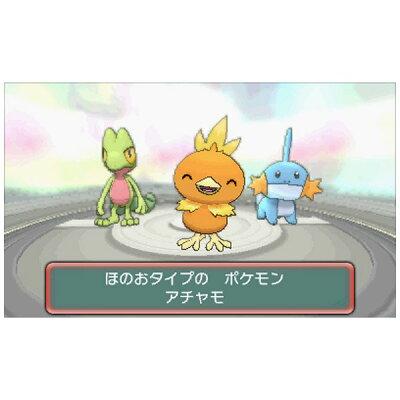 ポケットモンスター オメガルビー/3DS/CTRPECRJ/A 全年齢対象