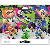Wii U用 amiibo トリプルセット ガール イカ ボーイ スプラトゥーンシリーズ