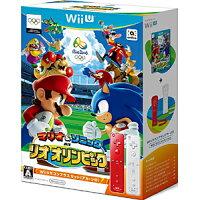 マリオ&ソニック AT リオオリンピックTM Wiiリモコンプラスセット(アカ・シロ)/Wii U/WUPRABJJ/A 全年齢対象