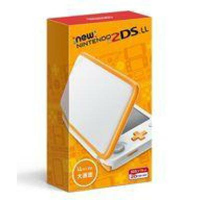 Nintendo ゲーム機本体 NEW ニンテンドー 2DS LL ホワイト/オレンジ