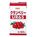 クランベリージュースUR65(果汁65%)125ml