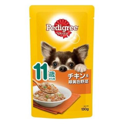 マースジャパンリミテッド P112 11歳からほぐれチキン&野菜 130g
