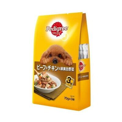 マースジャパンリミテッド P117 成犬用元気サポートビーフチキン野菜 3袋