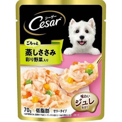 マースジャパンリミテッド CEP2 シーザーパウチ 成犬用ささみ野菜 70g
